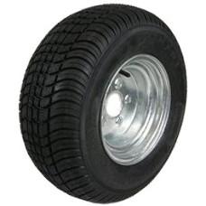 62-205TW65EG  205/65-10 LOADSTAR Trailer Tire & Galvanized Wheel