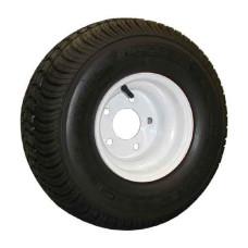 62-215TW60C  215/60-8 Trailer Tire on White Steel Wheel