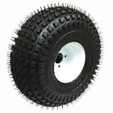 62-22-8-5        22  x 11-8  Knobby ATV Trailer Tire on 5 bolt Wheel
