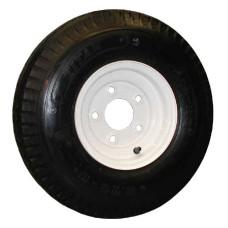 62-570-8-5-B     570-8 B LOADSTAR Trailer Tire on 5 Bolt White Wheel