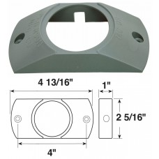 79-B146-09       GREY ABS BRACKET FOR 2.0in.